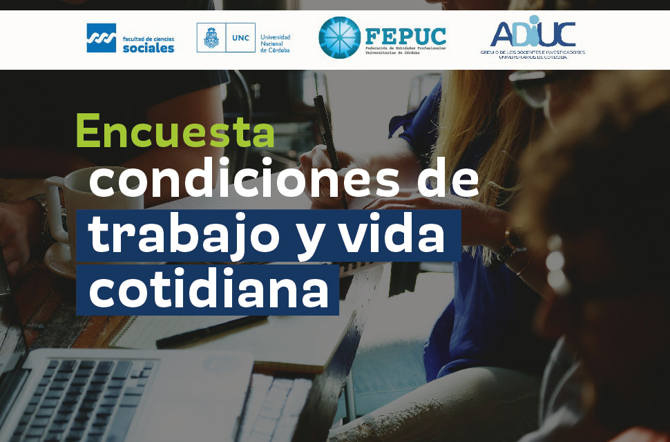 Encuesta provincial sobre condiciones laborales de profesionales de la provincia de Córdoba